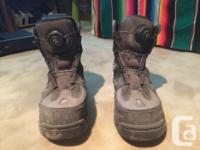 I am selling my used pair of Korkers Sportsman Series