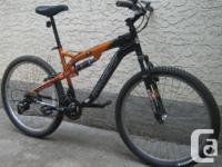 Kranked - dual suspension with 26 inch tires This bike,