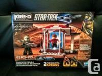 Kre-o brand Star Trek Transporter Trouble play set. Box