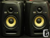 "Selling a ""Previously-enjoyed"" (PAIR) of KRK VXT4"