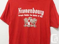 Kronen Bourg T shirt  Made in USA  Men's  Size: S