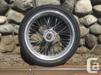Behr supermoto wheels from the KTM PowerParts catalog,