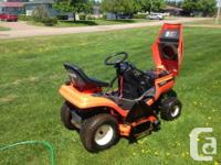 Hi I have a 1570 Kubota I had this ride on for two