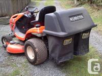 2013 Kubota lawn tractor T2380, 23hp, w/ grass