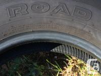 I have a set of 4 Kumho Road Venture tires with less