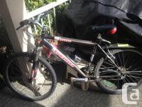 "18"", 21 speed Kuwahara Savage mountain bike in"