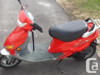 Year 2006 kms 3228 2006 Kymco Scooter ZX50 Super Fever.