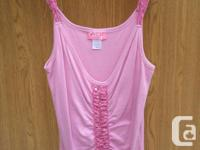 pre-owned La Senza pink Tank Top, the Top is still in