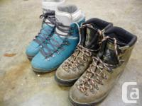 Both pair of boots are size 46 and too small for me now