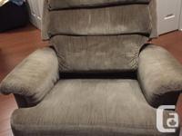 La-Z-Boy Armchair Description: becomes a recliner when