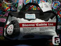 One pair  Laclede Sierra Cable Link Chains small
