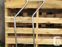 Chrome ladder for Mitsubishi Delica L300. Mounts on for sale  British Columbia