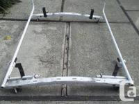 I have a white roof-mounted ladder rack for a ban it