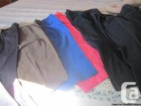 Available: Ladies Plus-Size Clothes: 7 Sets