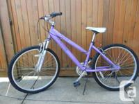 Ladies 21 speed Nakamura bicycle, good condition asking