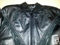 Screamin' Eagle Ladies Motorbike Coat. Brand name New ~