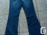 Ladies Garage Jeans in good condition. Size 27 Asking