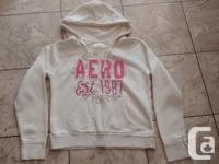 Ladies Ivory Aeropostale Hoodie in great condition.