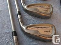 This is a complete set of Jack Nicklaus Signature