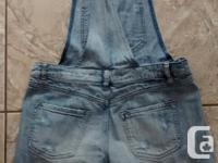 Ladies Jean Overalls from Garage Clothing in excellent