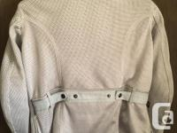 MESH! Not just a regular jacket with zippered vents!