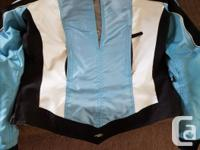 Mint Condition Ladies Joe Rocket leather jacket and