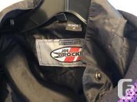 Beautiful ladies Joe Rocket vented motorcycle jacket