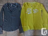 Ladies Aeropostale Long Sleeve Shirts in fantastic