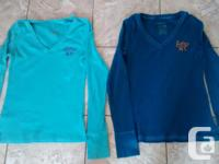 Ladies Aeropostale Long Sleeve Shirts in excellent
