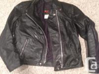 Two ladies motorcycle jackets: - Harley Davidson H-D