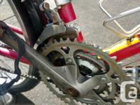 Quality Shimano parts, good working brakes and smooth