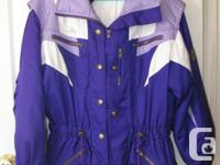 This is a beautiful ladies winter jacket in gorgeous