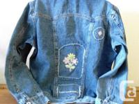 Northern Reflections Denim Ladies Jean Jacket....with