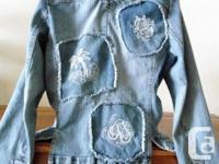 FYLO Denim Ladies Blazer Style Denim Jean