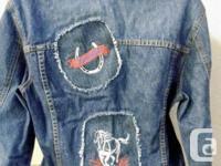 Global Mind Denim Ladies Jacket....with three reverse