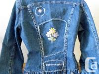 French Dressing Denim Ladies Jean Jacket....with four