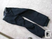 Waterproof ski/boarding pants made by Columbia,