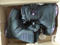 I bought these Snowboard boots last year, rode them for