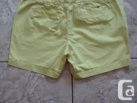 Ladies Tommy Hilfiger Shorts in excellent condition.
