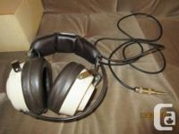 - model F-990 stereo headphones by Lafayette - made in