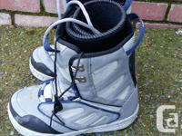 Selling my snowboard boots. They are in good condition