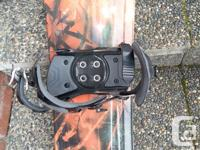 Selling my snowboard, as I have outgrown it. The board