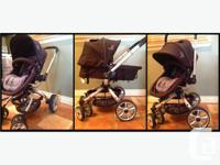 Stroller is in excellent used condition. NEVER used