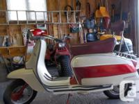 1976 lambretta li150 for sale 95% complete needs the