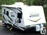 2013 Lance 1685 Holiday Trailer.  This 'like