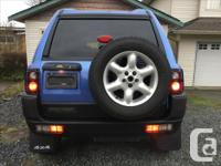 Make Land Rover Model Freelander SE Year 2002 Colour
