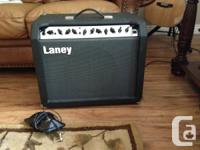 Laney LC30-II Tube Combination Amplifier. 30 watts.