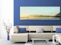 "Large 68""x25"" Breathtaking panoramic canvas print. I"