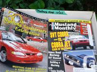 Magazines feature many of the popular mustangs/modified