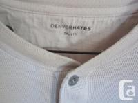 Denver Hayes 2xl thermo beige lengthy sleeve shirt$10.